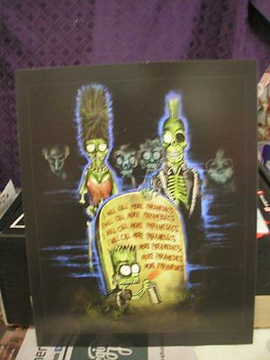 The Simpsons Treehouse Of Horror Art Print Horror Block Exclusive New