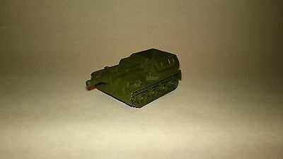 Vintage Soviet Russian USSR self-propelled artillery military die cast metal toy