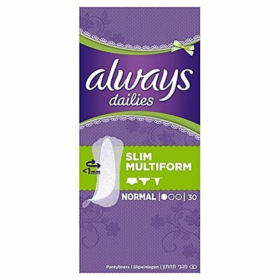 always Dailies salvaslip Slim Multiform (8 x 30 pezzi)