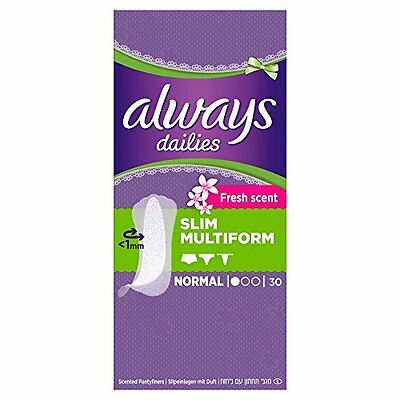 always Dailies salvaslip Slim Multiform Fresh (8 x 30 pezzi)