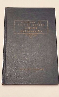 1961 Handbook of United States Coins (18th Edition by R.S. Yeoman)
