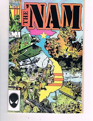 The 'nam #1  (1986 Marvel)  Awesome Michael Golden Artwork