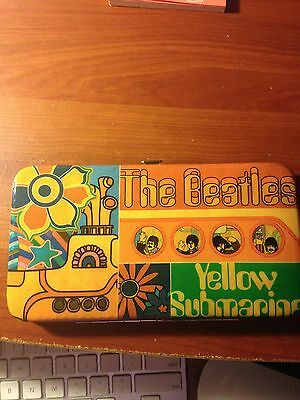 The Beatles Yellow Submarine long wallet