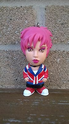 Kelly Osbourne PVC Key Chain Kelly Pink Hair Collectible Bag Clip On  Osbourne
