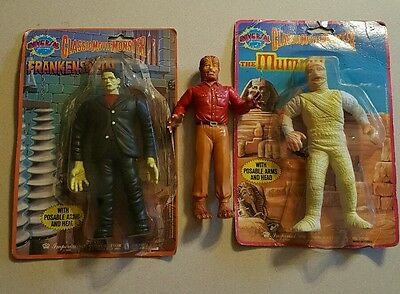 Universal Classic Movie Monsters set 1986 Imperial toys