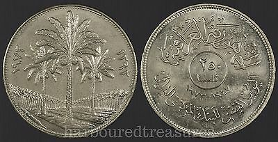 Iraq 1972 250 Fils - Very Nice World Coin