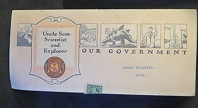 1921 Our Government Department of Science & Exploration Advertising Brochure