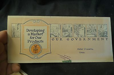 1921 Our Government Department of Commerce Advertising Brochure