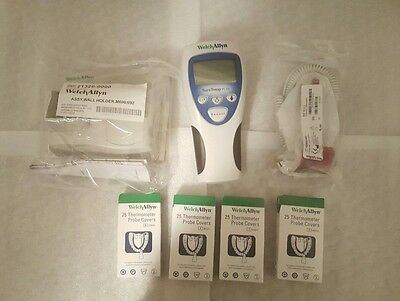 Welch Allyn SureTemp Thermometer w/New Mount & New Rectal Probe 692 Thermometer