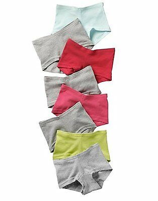 Hanes Girls Cotton Boy Short Panties 8-Pack  #GSBS80