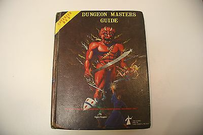 1st Edition AD&D Advanced Dungeons & Dragons Dungeon Master's Guide 2011