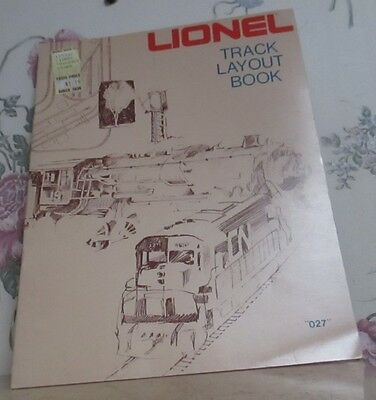 lionel track layout book 1975 20pages softcover excellent condition