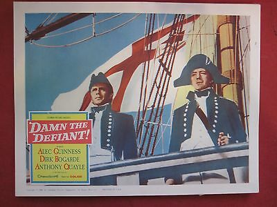 7 lobby cards -Damn the Defiant! 1962 Alec Guiness-Dirk Bogarde-Anthony Quayle