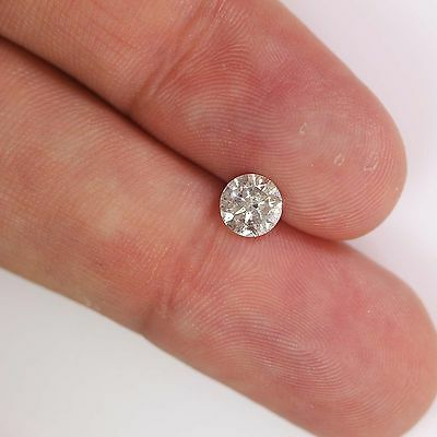 Loose Diamond 0.90 Carat Round G Color I1 Clarity Enhanced Natural For Ring