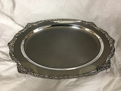 Rogers Bros Heritage 9409 International Silver Serving Tray