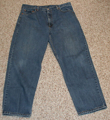 Men's LEVI'S 550 Relaxed Fit Denim Jeans size 40 x 30