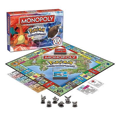 Monopoly Pokemon Collectors Edition Board Game Kanto