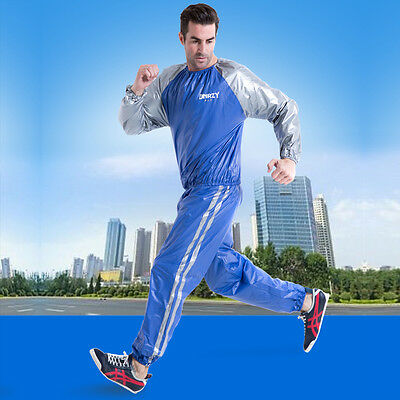 DNRZY Hot Man Woman Unisex Fitness Loss Weight Sauna Suit Slimmer Slim Exercise