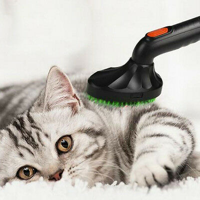 Pet Brush Cat Dog Loose Hair Grooming Vacuum Cleaner Nozzle Attachment Tool