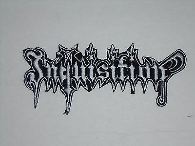 Inquisition Black Metal Iron On Embroidered Patch