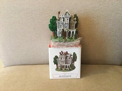 """LIBERTY FALLS~""""HAUNTED HOUSE"""" AH227~WESTERN VILLAGE FIGURE New Vintage Painted"""