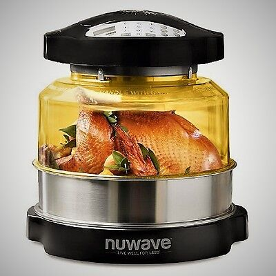 NuWave 20633 Oven Pro Plus with Extender Ring and heat resistant dome NEW SEALED