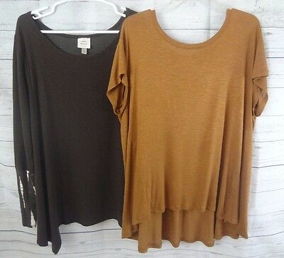 """Women's 2pc. Lot Tops """"Knox Rose/ Mossimo"""" Size L/XL"""