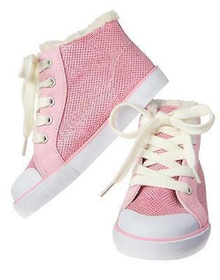 NWT Gymboree Enchanted Winter Pink Sneakers Many sizes toddler kid Girls