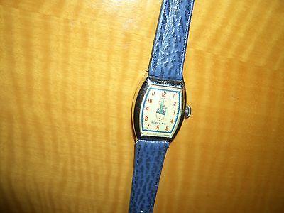 Rare Vintage 1948 Ingraham Looney Tunes*porky Pig*character Watch*runs/accurate!