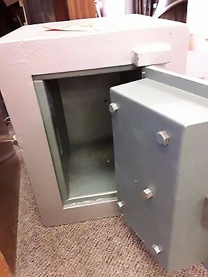 Solid Silver Safe (incl keys) - (W) 385 mm x (D) 379 mm x (H) 510 mm - $250.00