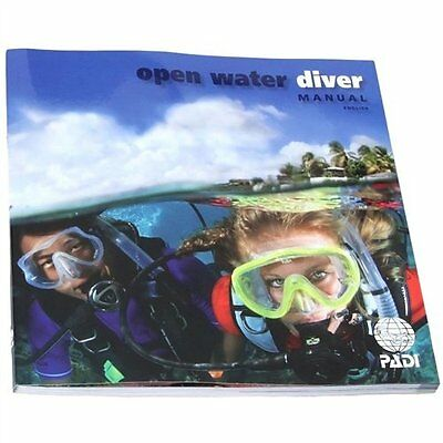 PADI Open Water Diver Manual and Dive Planner Table