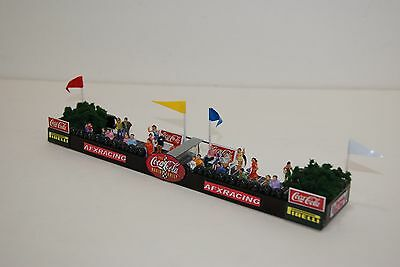 Ho Scale Slot Car / COCA-COLA RACING FAMILY FAN BARRIER / VIEWPOINT for AFX,TYCO