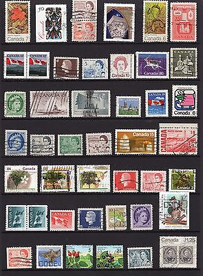 Canada 3x pages of stamps from early QE11 see scans x2