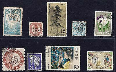 Japan mixed group of stamps see scans x2