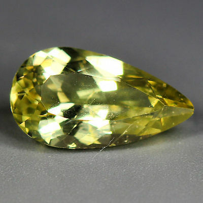 1.35 Cts_Wow Unbelivable Brazilian Gemstone_100 % Natural Heliodore Yellow Beryl