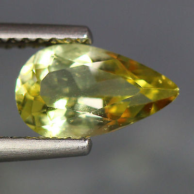 1.23 Cts_Wow Unbelivable Brazilian Gemstone_100 % Natural Heliodore Yellow Beryl