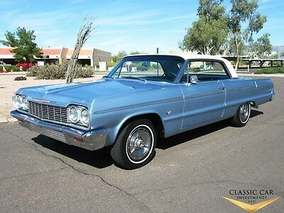 1964 Chevrolet Impala Super Sport 1964 Chevrolet Impala SS 2dr HT - Absolutely Beautiful - Factory A/C - WOW!!!