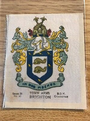 silk BDV Phillips Town And City Arms Large Size No60 Brighton