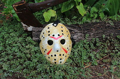 Halloween - Friday the 13th Jason Voorhees Mask - Heavily weathered