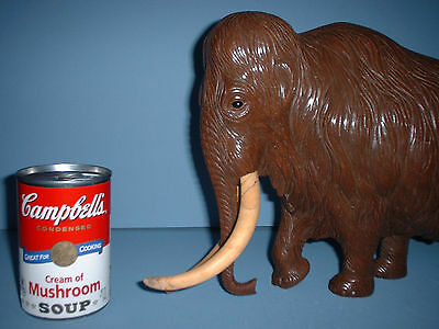 Rare One Off Artist Wood Carving Mammoth Elephant Invictus Copy