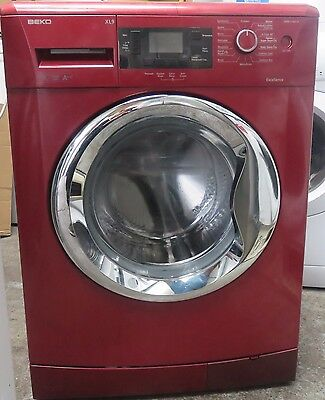 Beko WMB91442LR 9kg 1400rpm Free-standing washing machine In Red