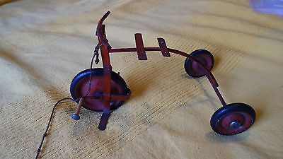 Vintage Toy Tricycle with original pull string