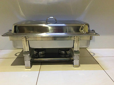 Brand New Stainless Steel 2 x Buffet Food Warmer