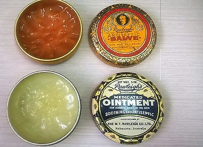 Vintage RAWLEIGH'S Medical Tins with Contents – Pharmaceutical, Bottles