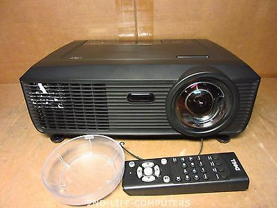 29 HOURS - DELL S300 92W58 WXGA DLP HDMI Beamer Projector 2200 Lumens + REMOTE