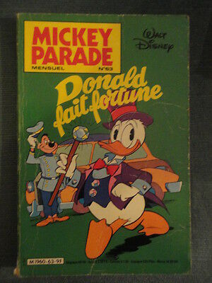 Mickey Parade N°63 1985 Donald Fait Fortune