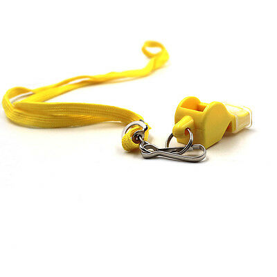 100PCS FOX 40 Whistle Soccer Basketball Sports Classic Referee Survival Outdoor