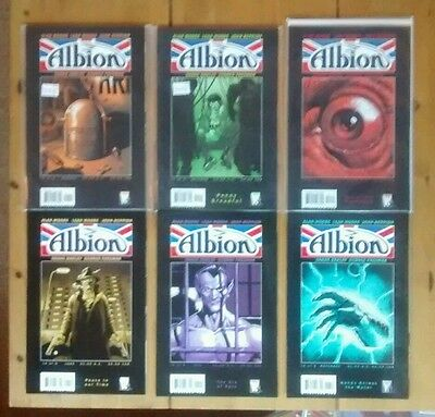 Albion #1-6 complete ..Robot Archie ..Charlie Peace..Steel Claw ..The Spider