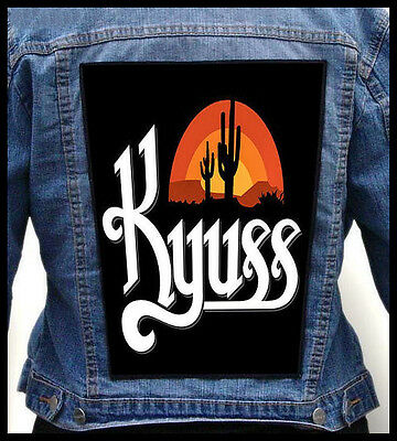 KYUSS --- Giant Backpatch Back Patch / Fu Manchu Truckfighters Clutch The Sword