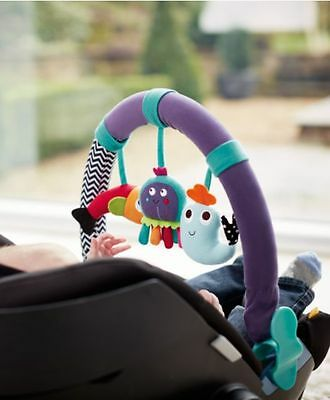 Brand NEW Baby Gift Musical Stroller Pram Car Seat Toy Travel Arch-Under The Sea
